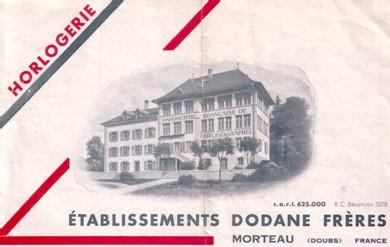 Usine Dodane à Morteau