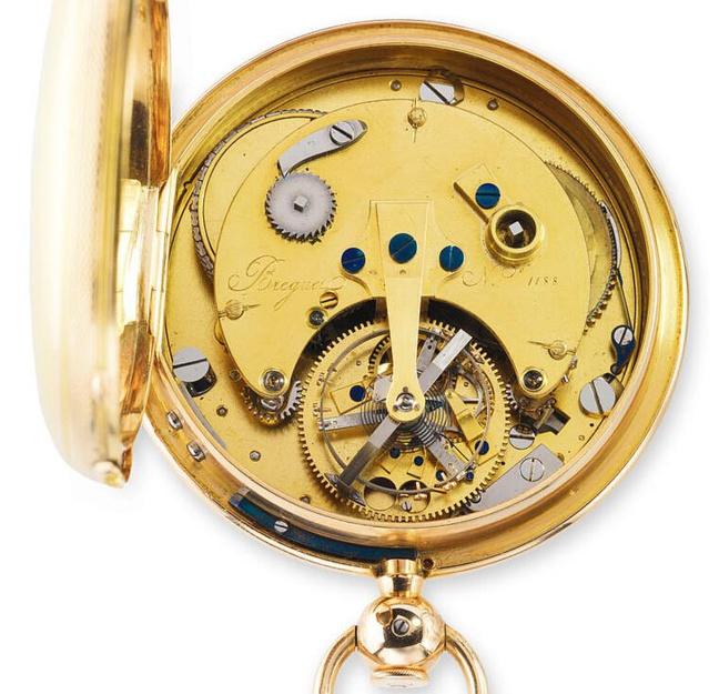 Breguet 1188, garde-temps Tourbillon vendu en 1808 au Prince Antonio de Bourbon d'Espagne