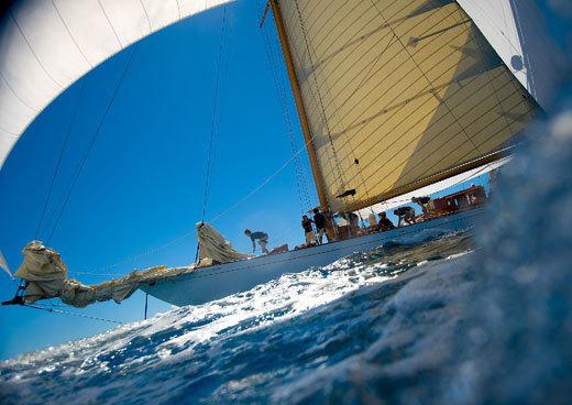 Naples : nouvelle étape pour le Panerai Classic Yachts Challenge 2013