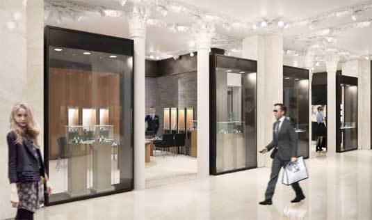 Bucherer Paris : le plus grand magasin horloger au monde… tout simplement