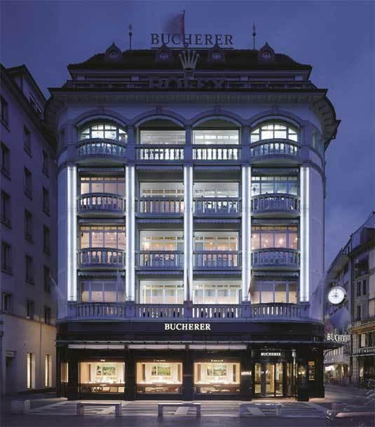 Bucherer : une institution dans le monde de l'horlogerie de luxe