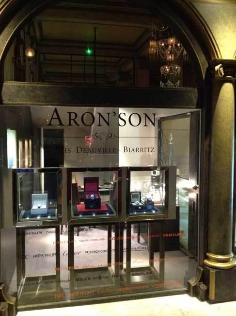 Aron Son Le Royal Deauville
