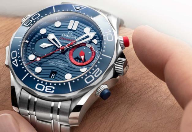 Omega : un chrono Seamaster Diver dédié à la Coupe de l'America