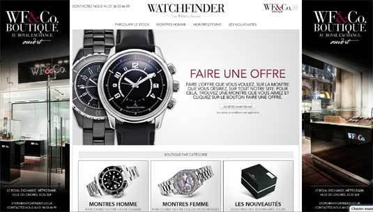 Watchfinder : le spécialiste anglais de la montre d'occasion arrive en France