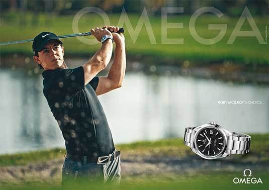 Rory McIlroy pour Omega