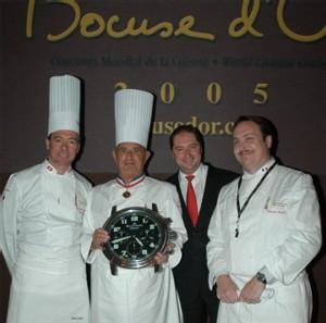 Blancpain célèbre les 20 ans du Concours Mondial de la Cuisine