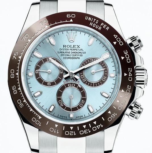 Rolex Oyster Perpetual Cosmograph Daytona : noces de platine