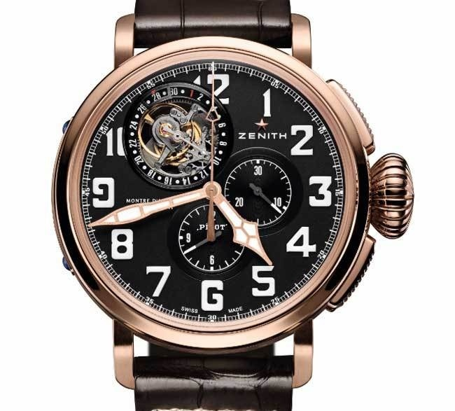 Pilot Montre d'Aéronef Type 20 Tourbillon