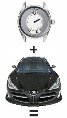 Concept-Watch Bell & Ross pour Concept-Car Peugeot