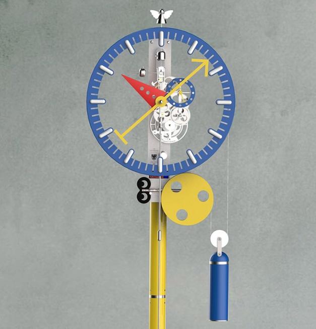 Utinam KB2 : une horloge signée Lebru x Silberstein