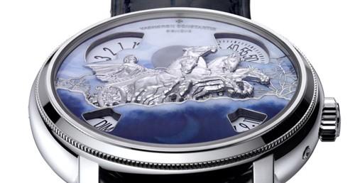 La montre Métiers d'art de Vacheron Constantin : symbole de la passion de la marque pour les arts décoratifs