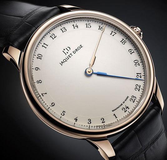 Jaquet Droz Grande Heure GMT : la fonction GMT pour globe-trotteurs nonchalants…