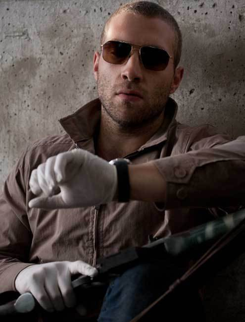 Jai Courtney in Jack Reacher, DR