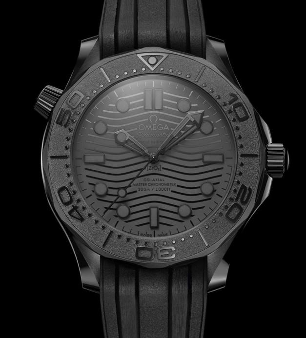 Omega Seamaster Diver 300M Black Black