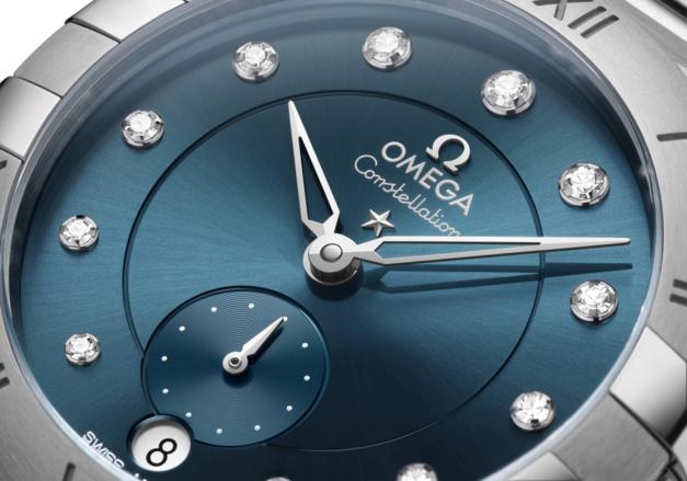 Omega Constellation Petite Seconde : nouvelle version en 34 mm