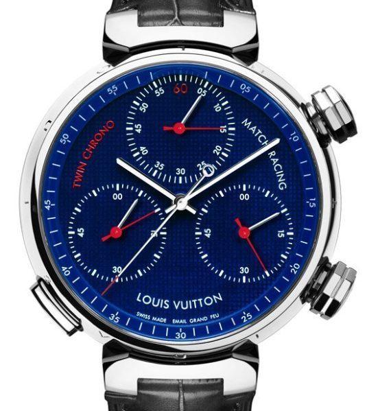 Louis Vuitton Tambour Twin Chrono : bi-chronographe monopoussoir de régate