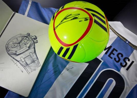 Audemars Piguet : la Royal Oak Leo Messi No. 10 atteint 65.475 euros chez Sotheby's