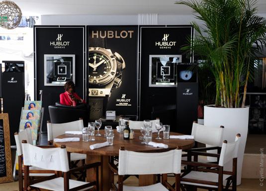 Festival de Cannes : une boutique Hublot éphémère au Nikki Beach