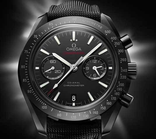 Omega Speedmaster céramique noire