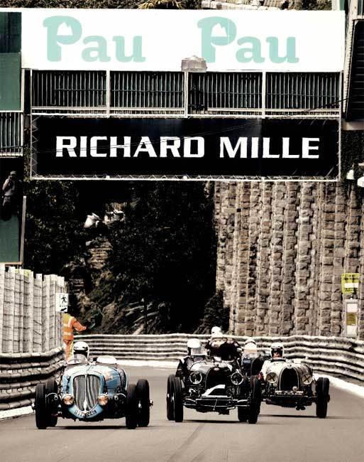 Richard Mille : partenaire principal du Grand Prix de Pau Historique 2013