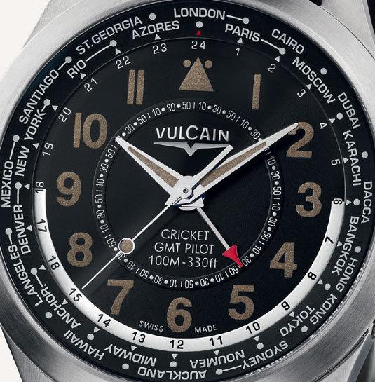 Vulcain Aviator GMT Pilot vintage