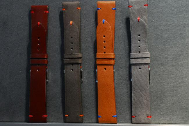 Garde-Temps : des bracelets cuir exclusifs