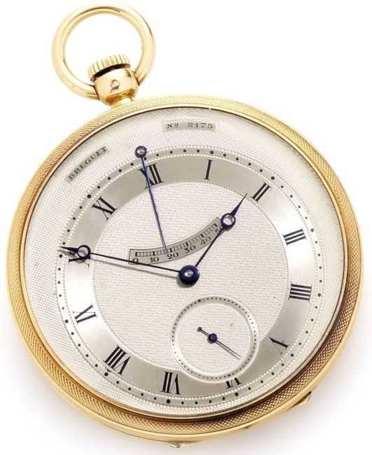 Breguet de Paul Iribe, crédit photo Bonhams
