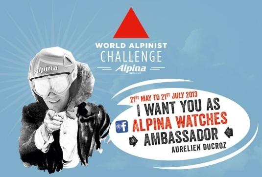 Alpina : coup d'envoi du Challenge Alpiniste Mondial sur Facebook