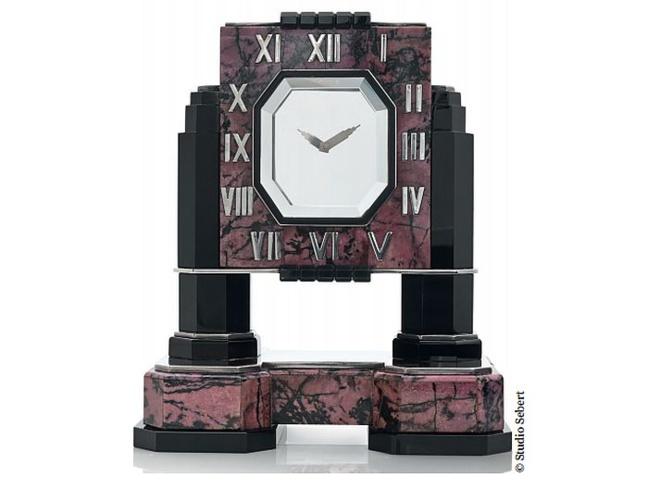 La maison Piasa met aux enchères une somptueuse et rare horloge mystérieuse de chez Cartier
