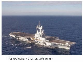Le Charles de Gaulle, dernier-né des porte-avions