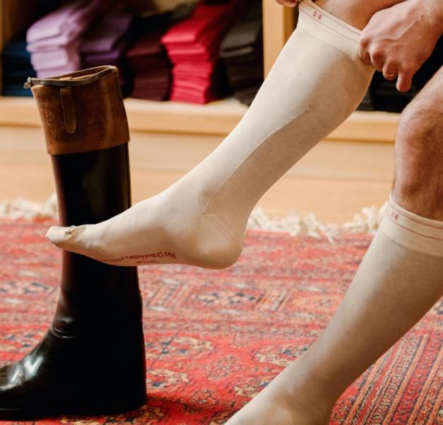 Un coffret de six paires de chaussettes en hommage à Napoléon
