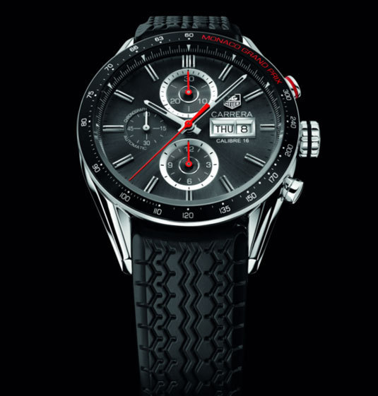 Chronographe Carrera Calibre 16 Monaco Grand Prix – 43mm édition limitée