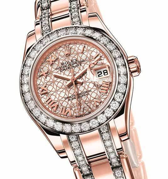 Rolex Oyster Perpetual Lady-Datejust Pearlmaster