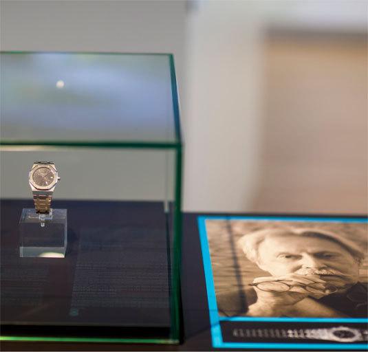 Espace Horloger de la Vallée de Joux : Royal Oak, la fabuleuse histoire d'une montre icône