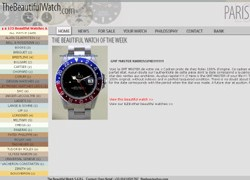 The Beautiful Watch : un site Internet de montres vintage et d'occasion