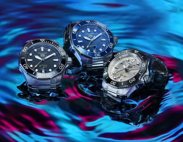 TAG Heuer : une Aquaracer très racée