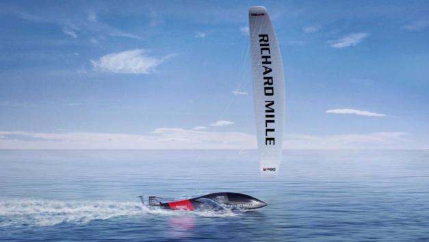 Record du monde de vitesse à la voile : Richard Mille s'associe à SP80