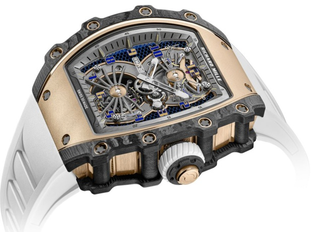 RM 21-01 Tourbillon Aérodyne : nouvelle montre d'exception signée Richard Mille