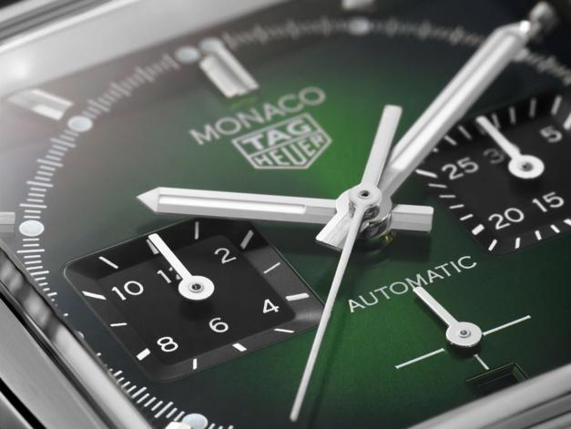 TAG Heuer : lancement d'une Monaco Green Dial au Grand Prix de Monaco Historique