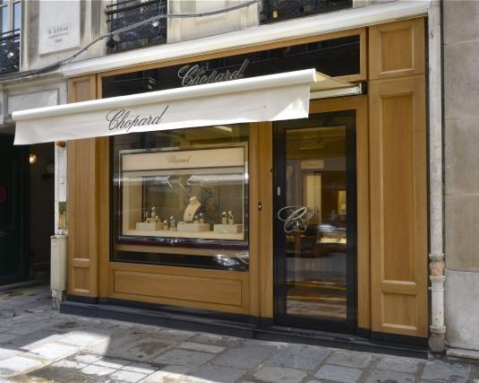 Boutique Chopard : nouveau concept rue du Faubourg St Honoré à Paris