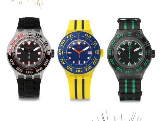 Swatch Scuba Libre : une plongeuse libre comme l'air !