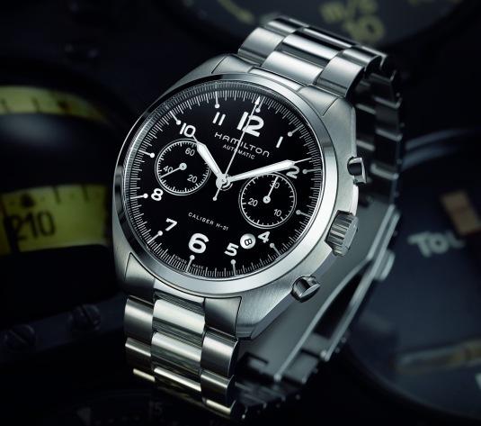 Hamilton Khaki Pilot Pioneer Auto Chrono