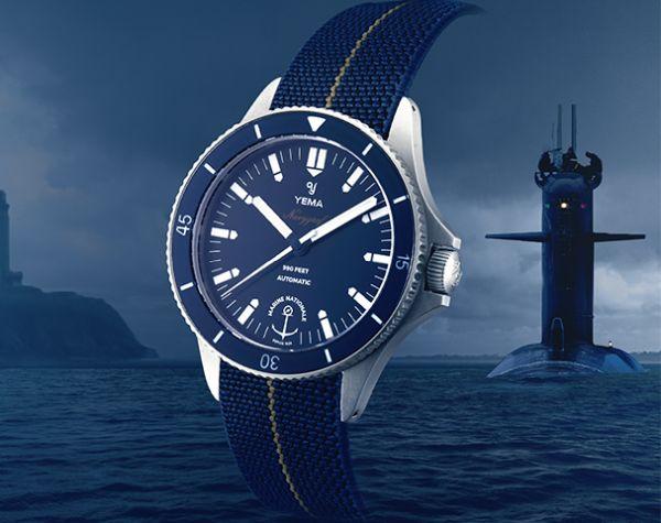 Tudor et Yema partenaires de la Marine Nationale