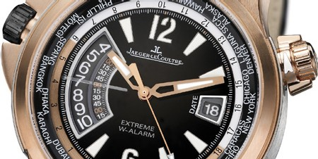 Master Compressor Extreme W-Alarm de Jaeger-LeCoultre : 24 fuseaux horaires et un réveil