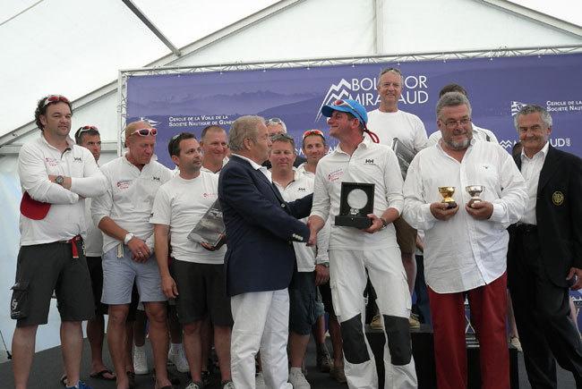 Genève Bol d'Or 2013 : victoire de M1 Zenith Fresh de Christophe Péclard