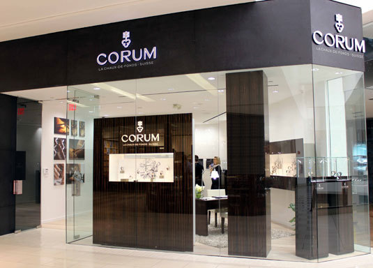 Corum : ouverture d'une boutique à Miami à l'Aventura Mall