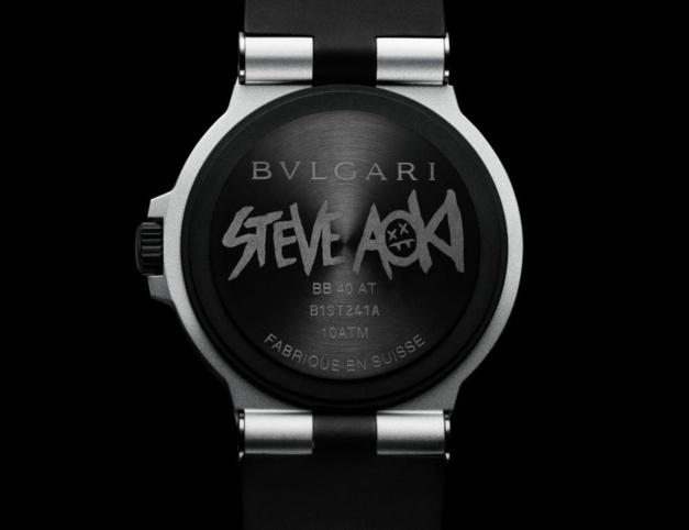 Bvlgari Aluminium Steve Aoki