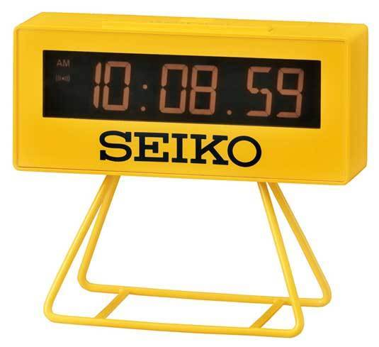 Seiko : un réveil collector en forme de chrono d'athlétisme : top chrono !