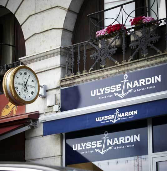 Ulysse Nardin : ouverture de sa première boutique exclusive à Genève