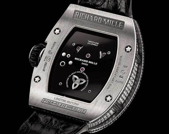 Richard Mille Tourbillon RM 26-01 Panda : haute joaillerie et haute horlogerie